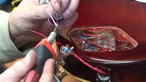 1996 Epiphone Les Paul Standard  Output Jack Repair