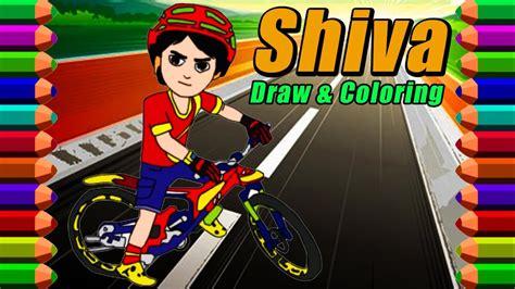 Shiva The Rescue Cartoon Drawing