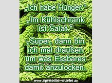 """""""Ich habe Hunger"""" """"Im Kühlschrank ist Salat"""" """"Super"""