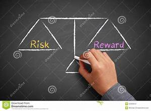 Risk And Reward Balance Stock Photo
