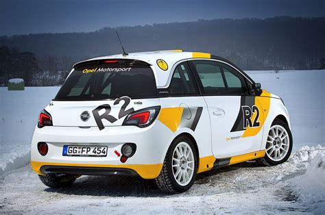 Opel Rallye by Opel Adam Rally Car Photo Gallery Autoblog