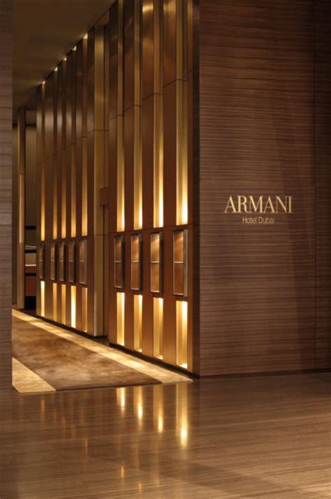 interiors   armani hotel dubai  worlds highest