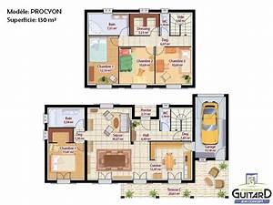 Plan Interieur Maison : plan interieur maison etage ~ Melissatoandfro.com Idées de Décoration