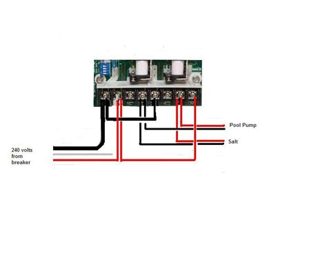 pool timer switch wiring diagram wiring diagram for pool with timer and service switch