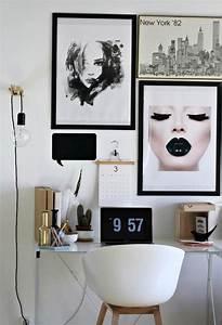 black and white, classic, decor, design, girl, room ...