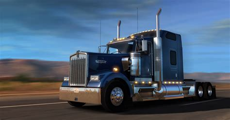 kenworth truck get to drive kenworth w900 now american truck simulator