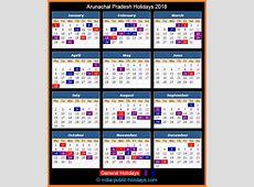 Arunachal Pradesh Holidays 2018