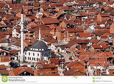 Mosque In The City Of Prizren, Kosovo Stock Photo Image