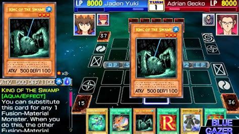 yu gi oh gx tag 3 jaden yuki new story mode 2 npc proof