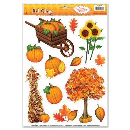 thanksgiving window decorations club pack of 144 colorful fall thanksgiving window cling