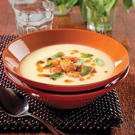 poireaux cuisiner crème de poireaux et gnocchis recettes cuisine et