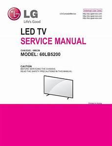 Lg 60lb5200 Led Tv Service Manual   Schematics
