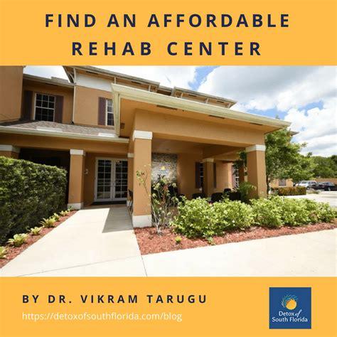find  affordable rehab center   detox  south