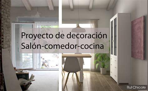 proyecto de decoracion salon comedor cocina rutchicote