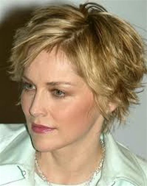 short hairstyles  middle aged women