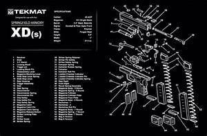 Springfield Armory Xds Tekmat Cleaning Pad 17 U0026quot  Schematic