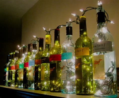 how to put lights in a wine bottle wine bottle lights the surznick common room