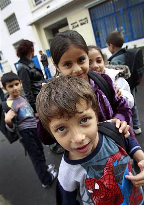 gypsy children face undeclared apartheid sfgate
