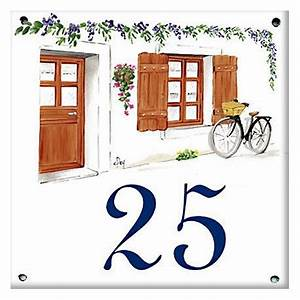 Plaque De Maison : plaque maill e 15 x 15 cm d cors facade de maison plaque de rue ~ Teatrodelosmanantiales.com Idées de Décoration