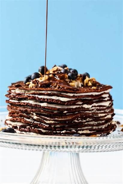 Cake Chocolate Crepe Vegan Gluten