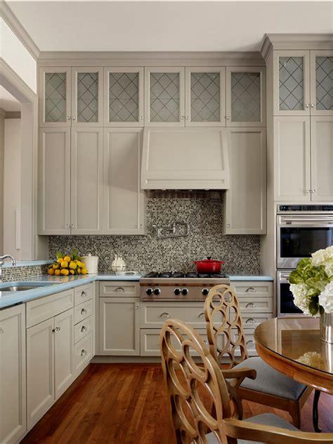foto de Benjamin Moore 1468 Willow Creek Kitchen Interiors By Color