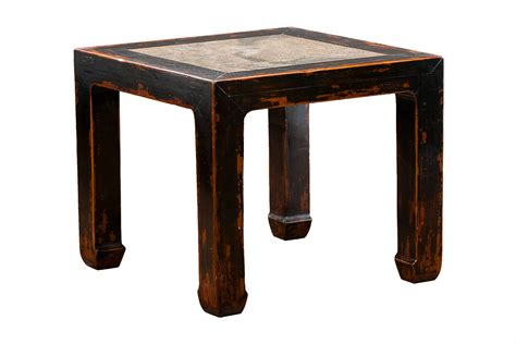stone top side table chinese stone top side table mecox gardens