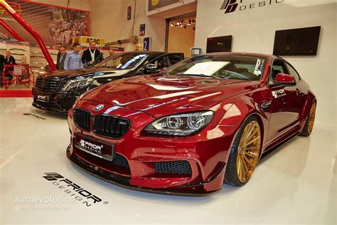 Bmw M6 With A Quilted Interior Belongs To Prior Design At
