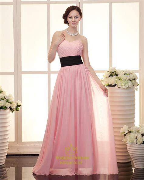 Light Pink Dress by Light Pink Bridesmaid Dresses Chiffon Strapless Light