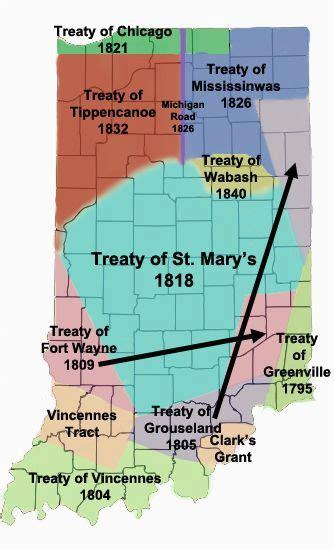 Ohio Indian Tribes Map Secretmuseum