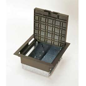 Wiremold Floor Box by Electrical Boxes Enclosures Floor Boxes Wiremold