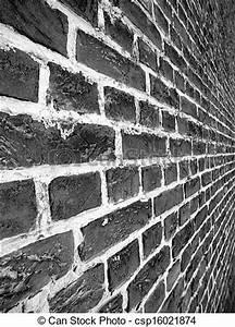 Mur Brique Blanc : mur brique noir blanc mur brique noir perspective white ~ Mglfilm.com Idées de Décoration
