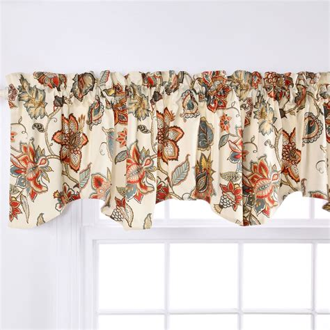 Jacobean Floral Design Curtains by Jacobean Floral Window Treatment