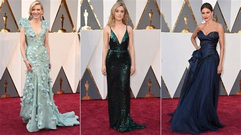 Photos 2016 Oscars Red Carpet Fashion 6abccom