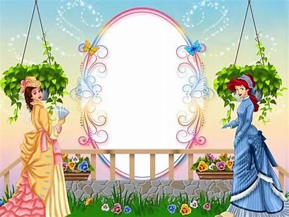 Princess Frame Frames Disney Cadre Yopriceville Birthday