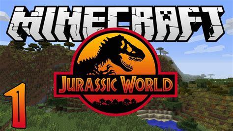 "Minecraft Jurassic World  Ep 1  ""where's The Iron"