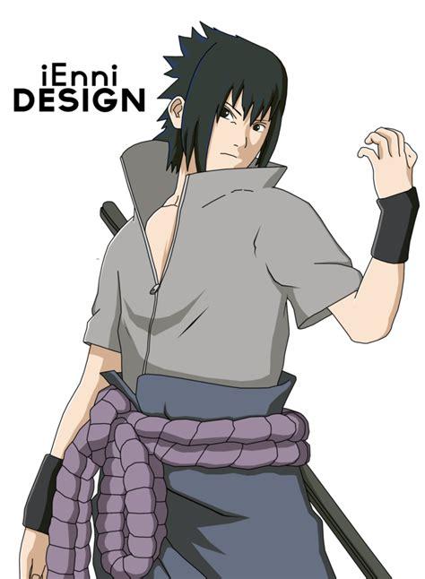 naruto shippuden sasuke uchiha  iennidesign  deviantart