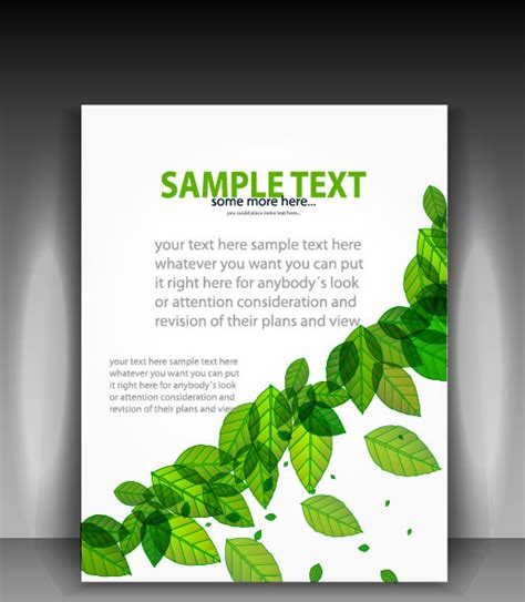 brochure background design  vector