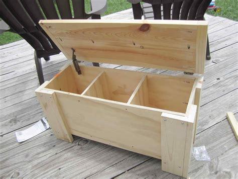 wooden storage trunk plans breakpr