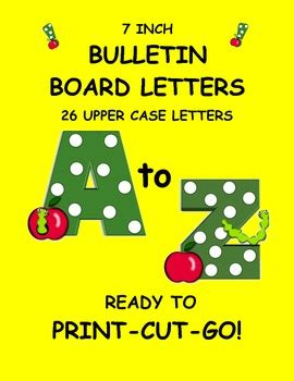 bulletin board letters bulletin board letters word wall letters green polka 16197