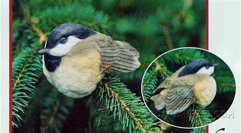 bird carving sleeping chickadee woodarchivist
