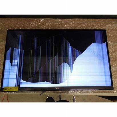 Broken Tv Lcd Screen Led Broke Repair