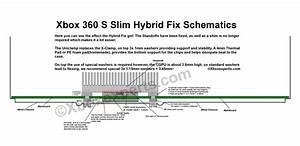 Xbox 360 Slim  Hybrid Extreme Uniclamp U2122 Repair Kit W
