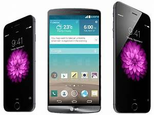 iPhone 6 (both versions) vs LG G3: first look
