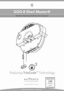 Roll Up Garage Door Installation Instructions
