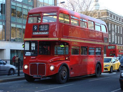 Red Routemaster Double Decker To Return To London
