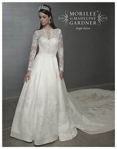 kate middleton inspired mori lee a line bridal gown with With sarah burton wedding dresses