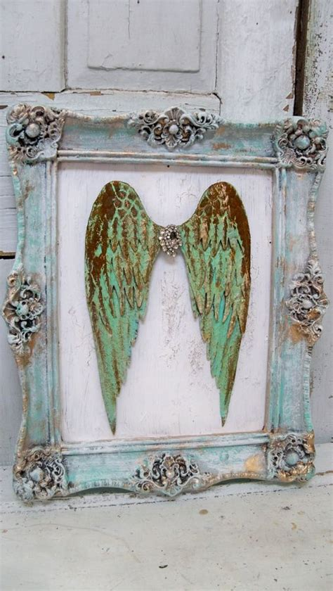 Plain Wings To Decorate - custom order for deborah turquoise home wall decor and