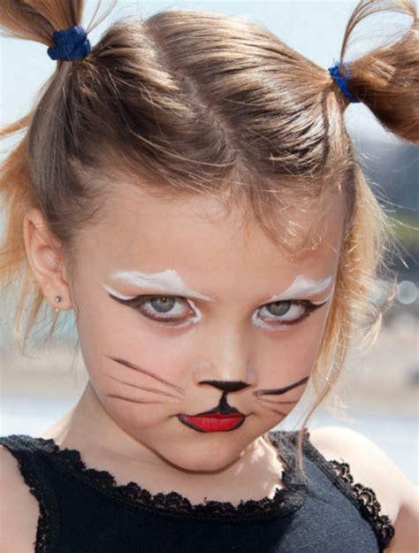 gesicht schminken kinder eine diy idee katze schminken archzine net