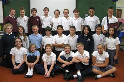 Ms Redick's 6th Grade Class