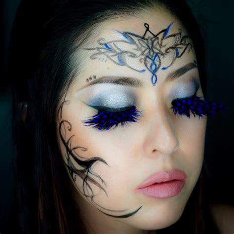 gesichter schminken teufel fasching schminken schminken